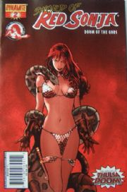 Red Sonja Doom of the Gods #2 Cover A